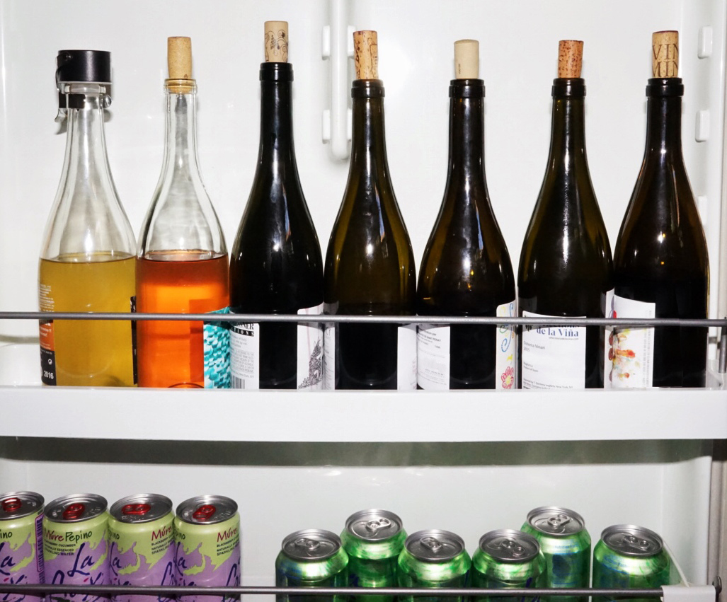marissa a. ross wine fridge