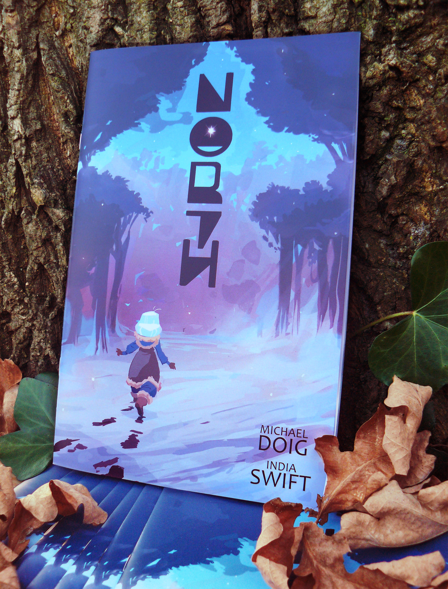 NORTH (PRINTED) - Full Colour Mini Comic(170mm x 260mm)12 pages includes 2 pages of development work.