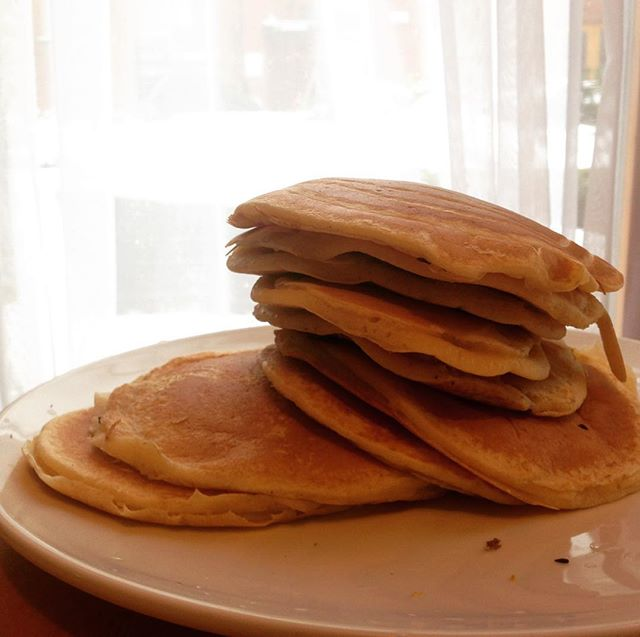 Here are the best pancakes I've ever made. #pancakes