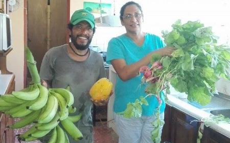 Veggie for the Esterillos Pre-School
