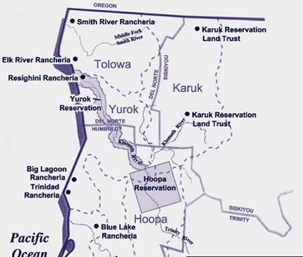Yurok Map