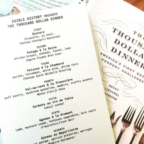 The Thousand Dollar Dinner -
