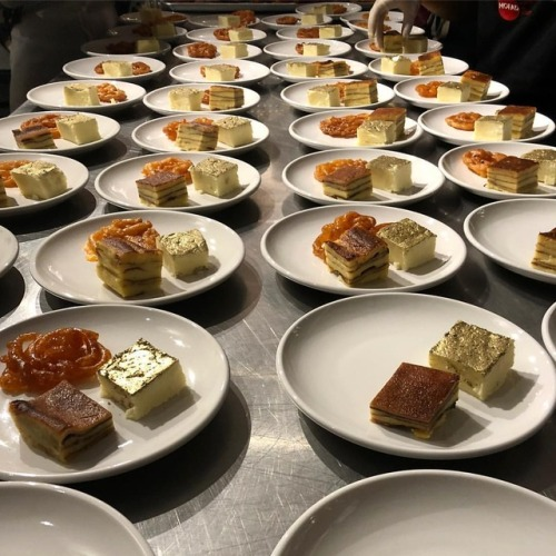 Plating of Indian desserts at Edible History dinner.jpg
