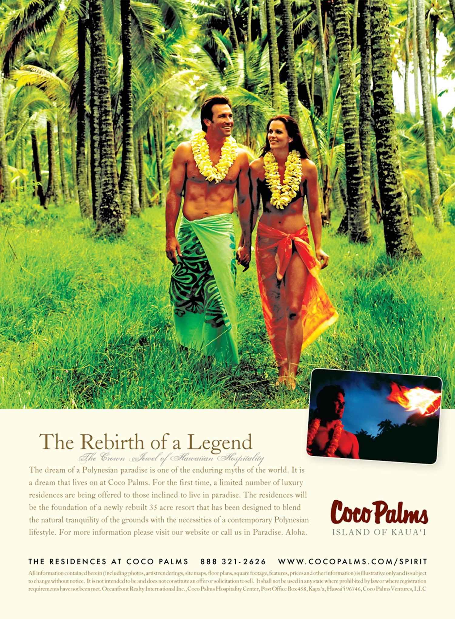 Advertisement: Spirit of Aloha
