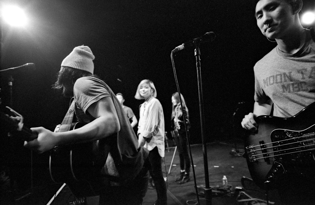 During Our Set for the Goo Goo Dolls Tour - 2014