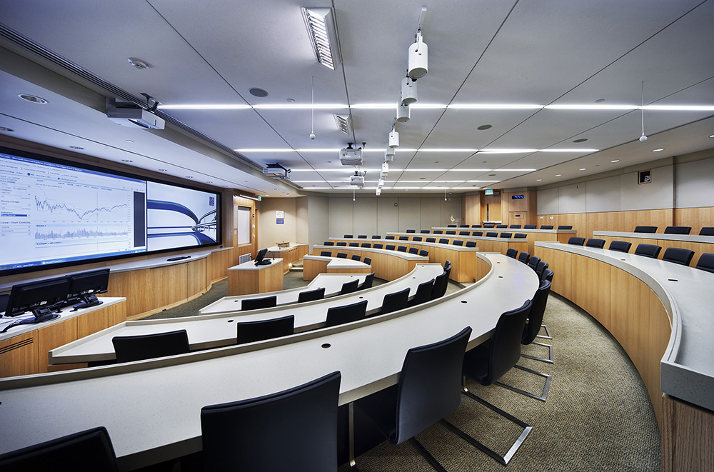 Fuqua School of Business – Lilly Classroom