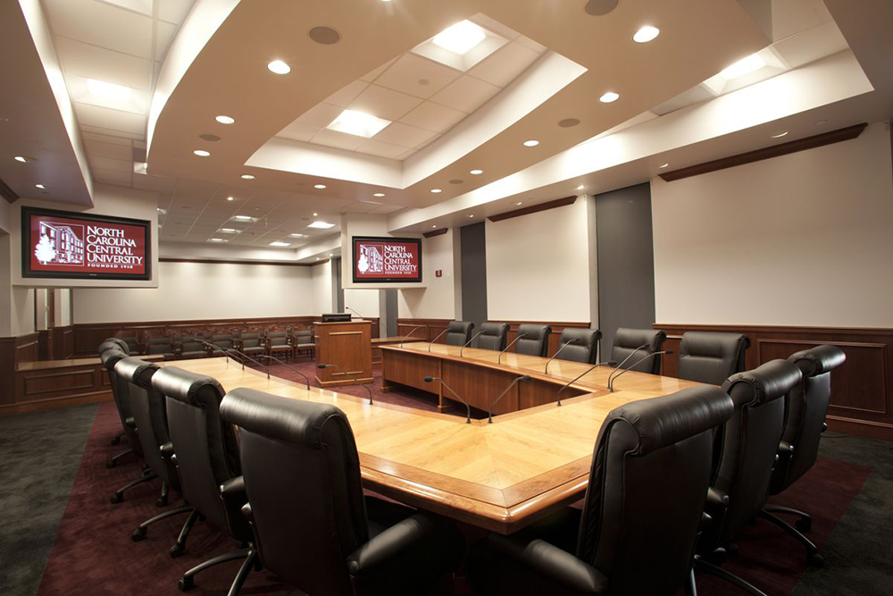 NC Central University – Board of Trustees Room