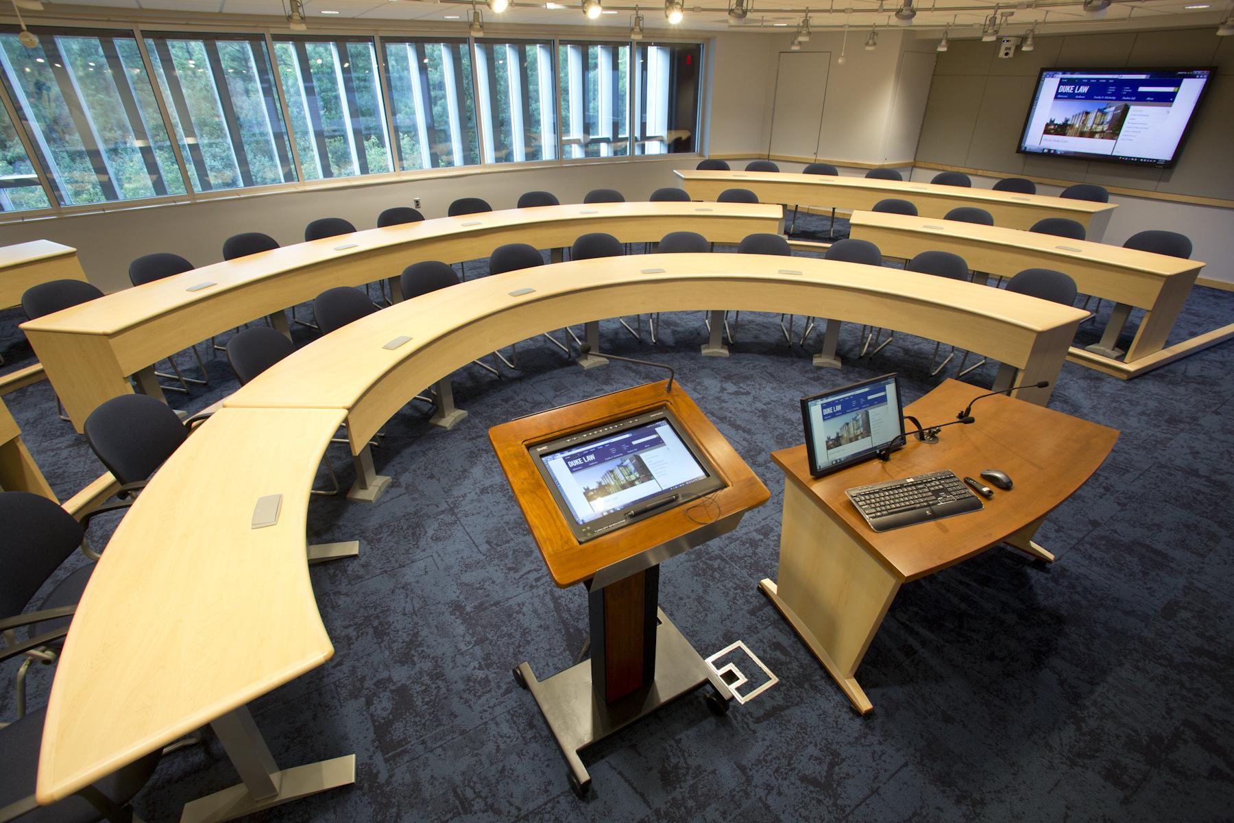 Duke Law School – Classroom 4000