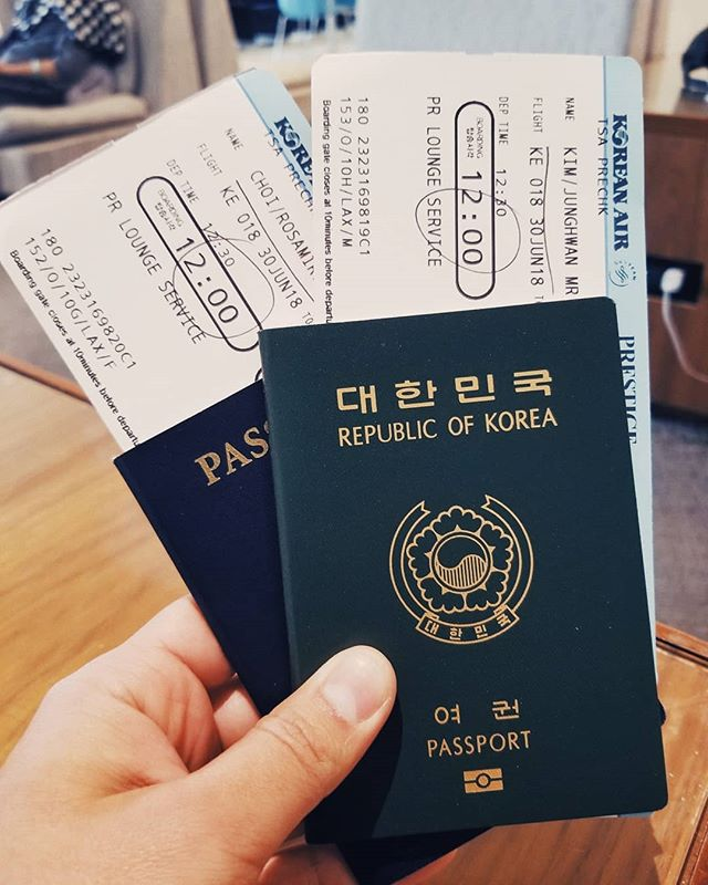 Today marks the beginning of new adventures to come!! It's been a long journey to this point and I'm so grateful for this opportunity. Thank you everyone for your continuous prayers and support!  Can't wait to see what the motherland has to offer!!! #LongAwaitedTrip #KoreanAir #Prestigeclass #LAXtoICN