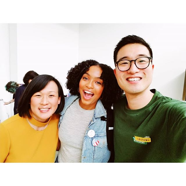 Had the opportunity to shoot with the sweetest person alive, @yarashahidi! Thanks for stopping by for @cnet Fall Issue! #CnetMagazine #Blackish #Grownish #JKxCelebrity
