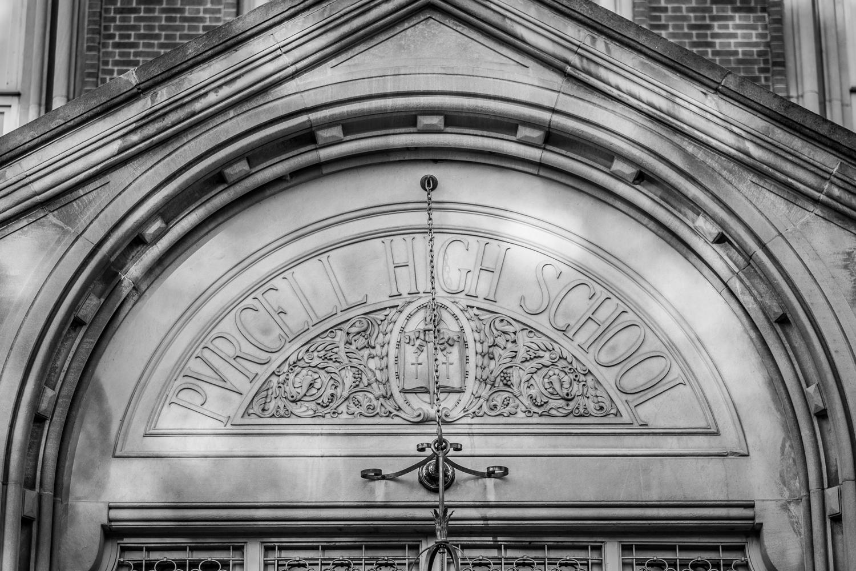 Purcell Marian High School Front Door