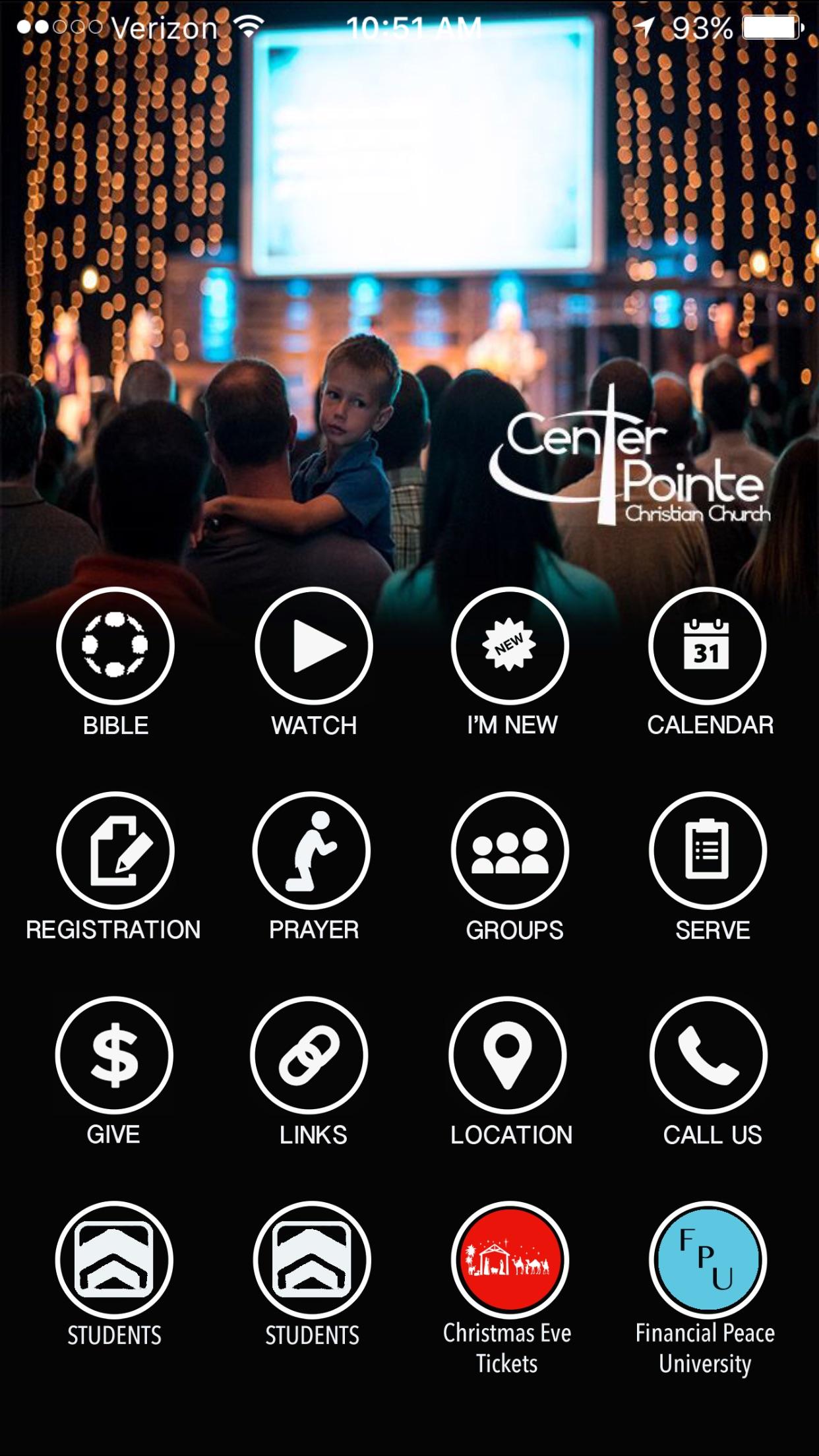 Centerpointe app