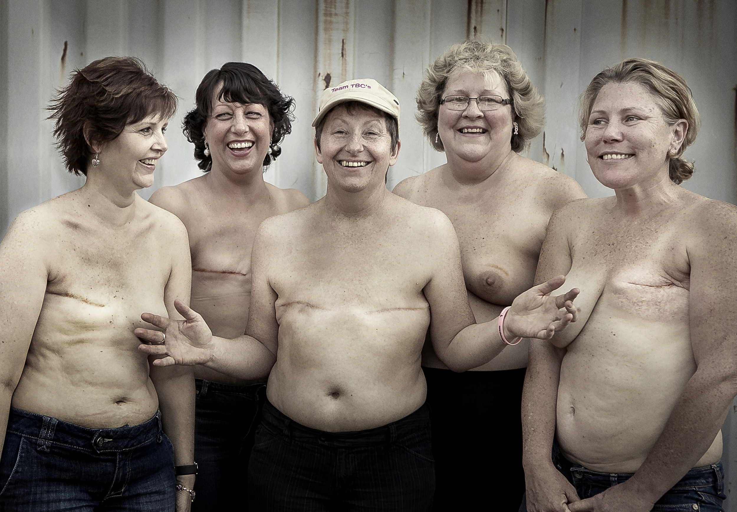 TBCs, Breast Cancer Survivors, Photograph by Suzanne McCorkell