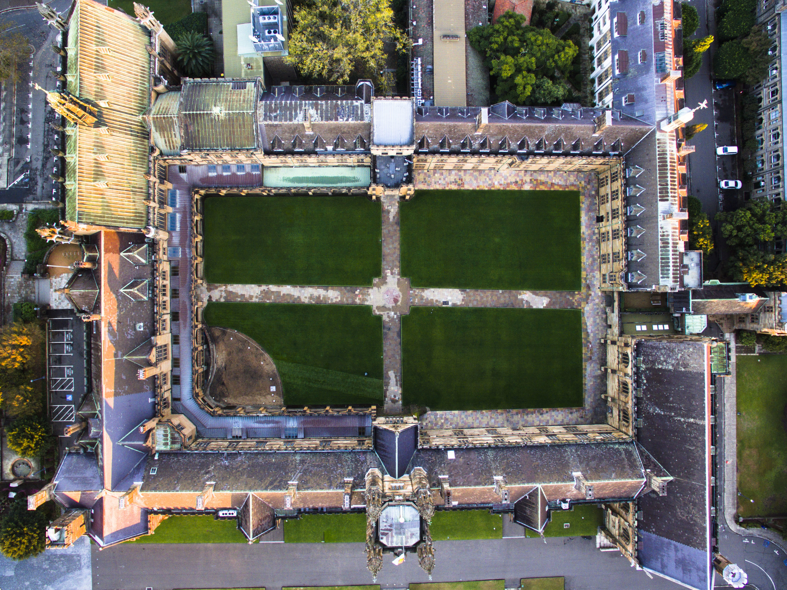 The Quadrangle- University of Sydney