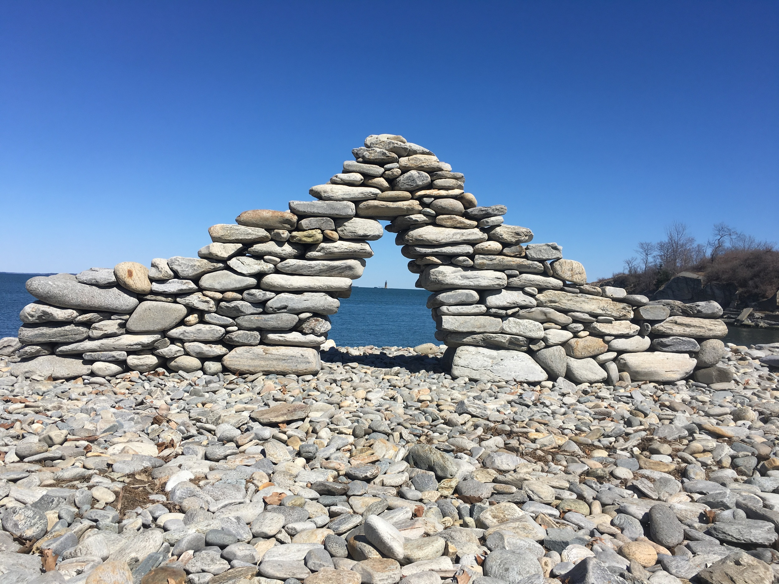Corbel Arch          Fort Williams, Me. 2015