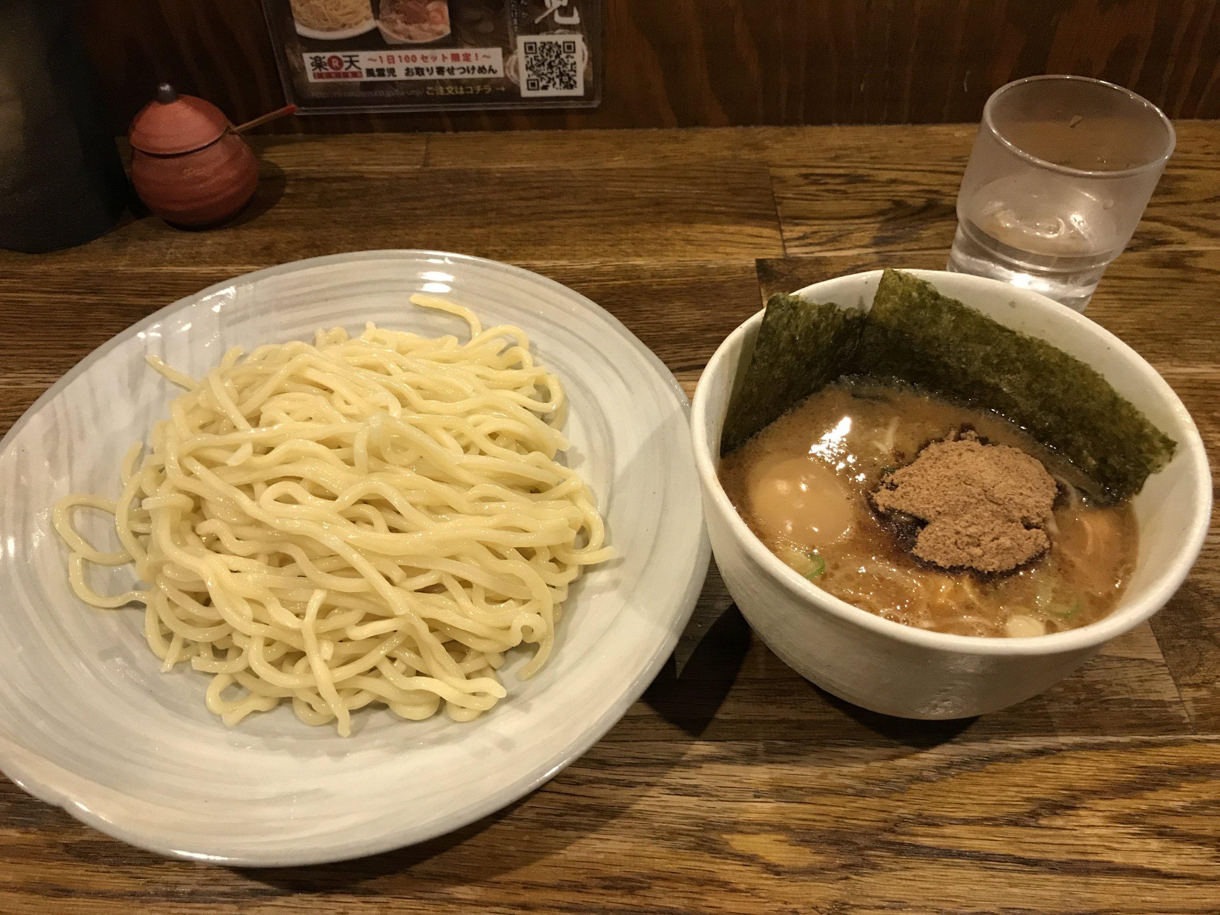 fuunji tsukemen