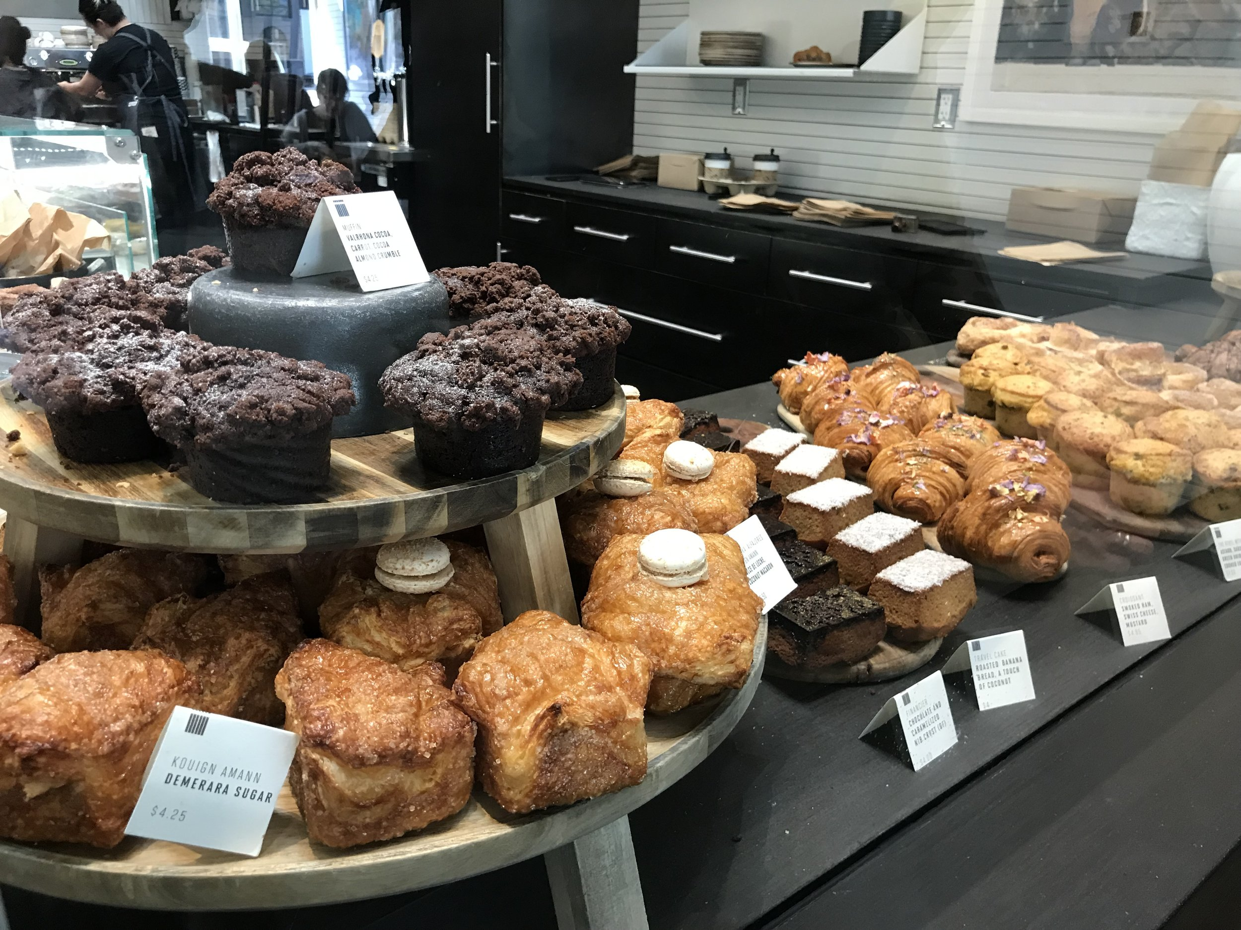 Pastries at Craftsman and Wolves.