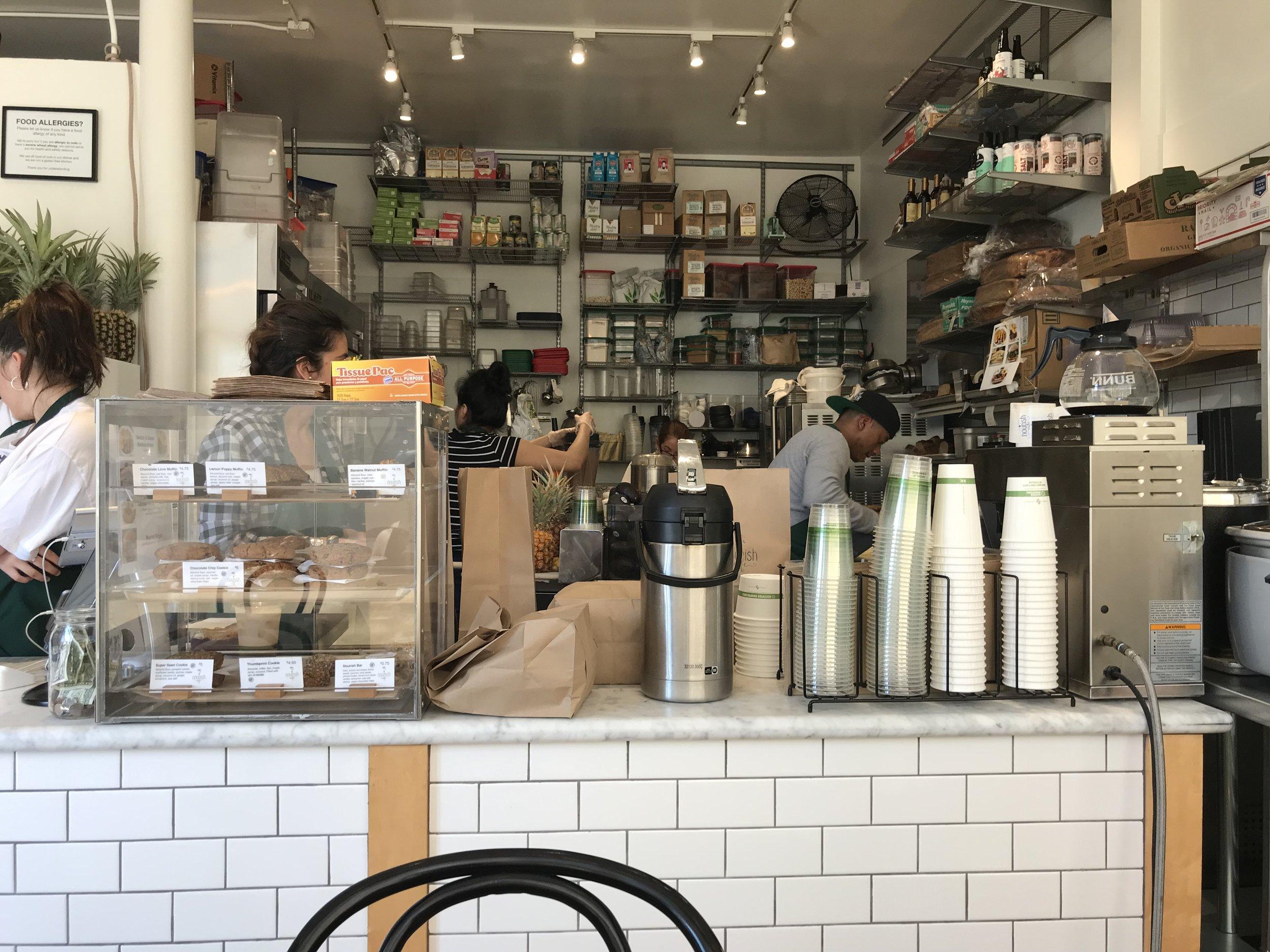 Nourish Cafe.