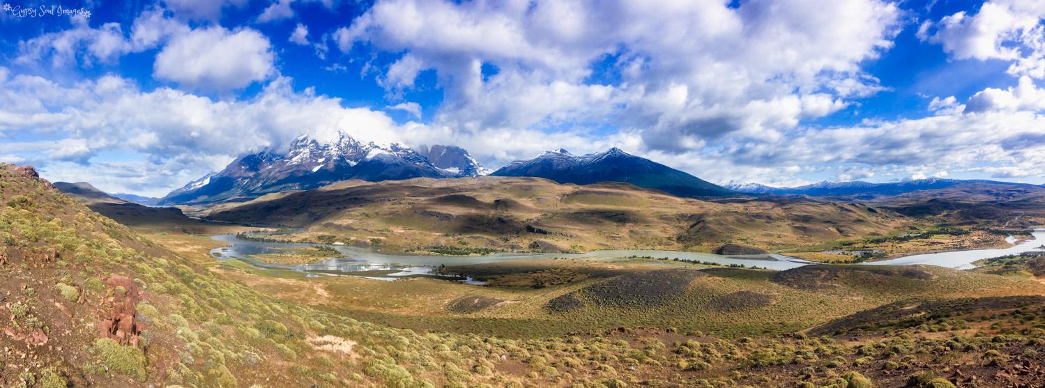 Torres del Paine Panorama - Chile