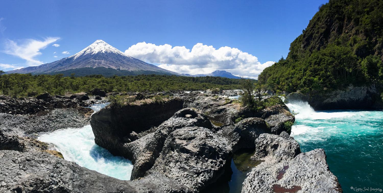 Osorno Volcano - Saltos del Petrohué, Chile