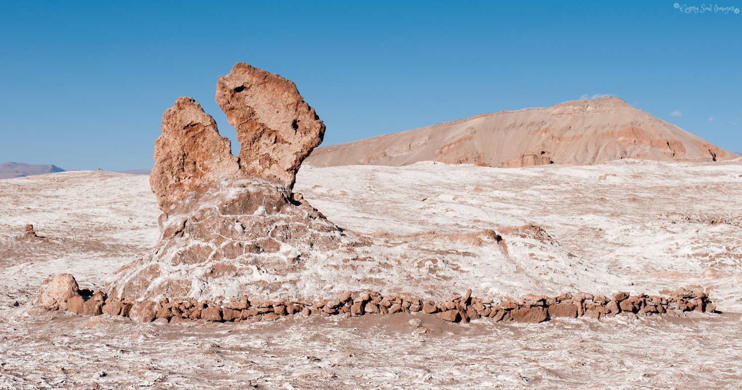 Rock Sculpture - Valley of the Moon, Chile
