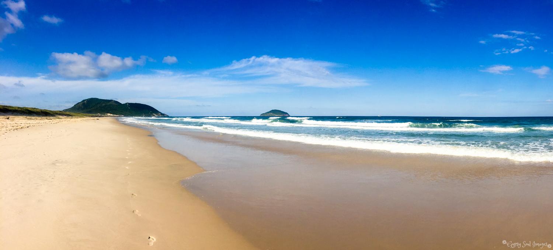 Footprints in the Sand - Florianópolis, Brazil