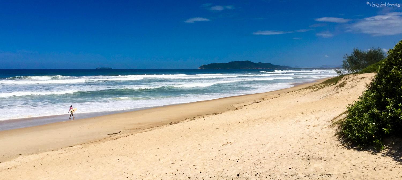 Sole Surfer - Florianopolis, Brazil