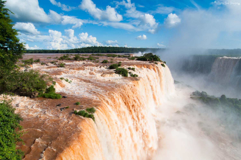 Living on the Edge - Iguazu Falls, Brazil