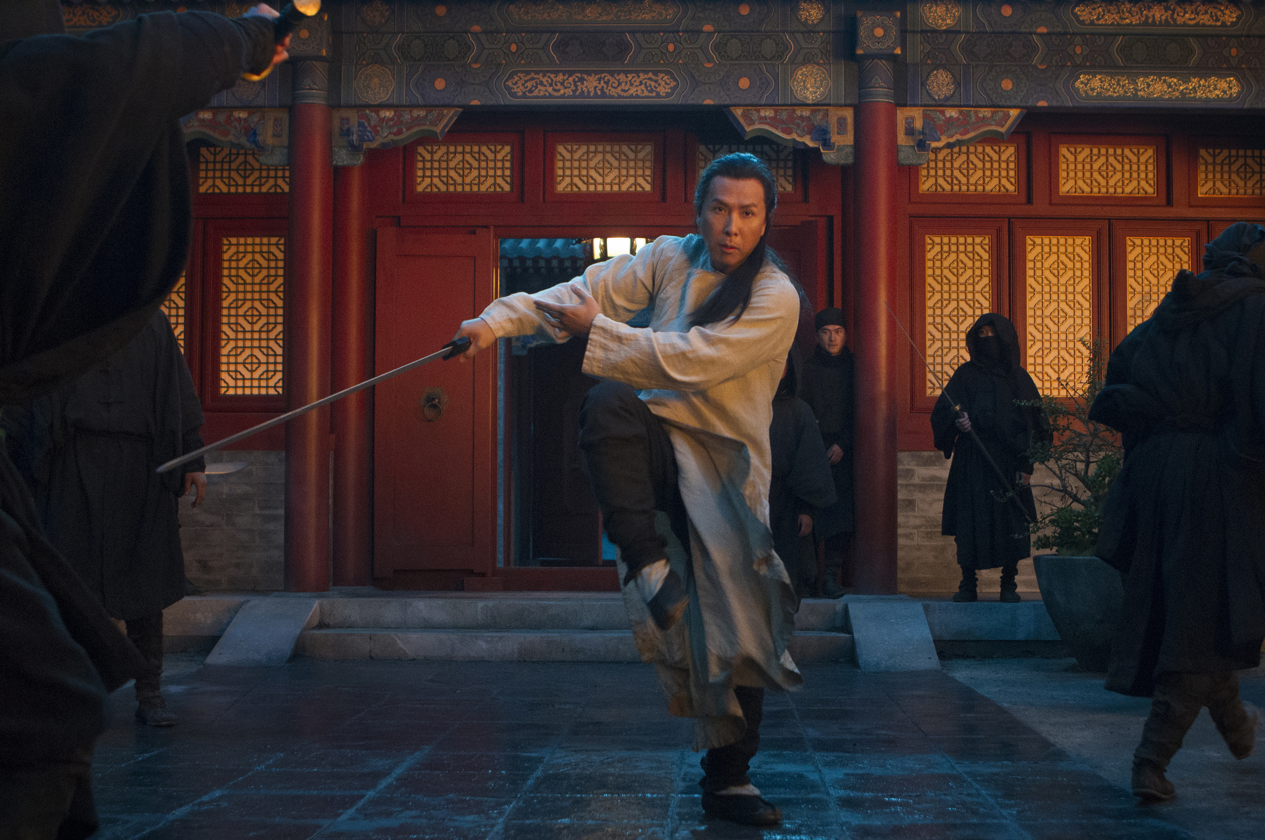 Donnie Yen stars in Netflix's CROUCHING TIGER, HIDDEN DRAGON: THE GREEN LEGEND. Photo credit: Rico Torres for Netflix