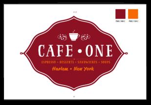 CAFE ONE.HARLEM.NEW YORK.