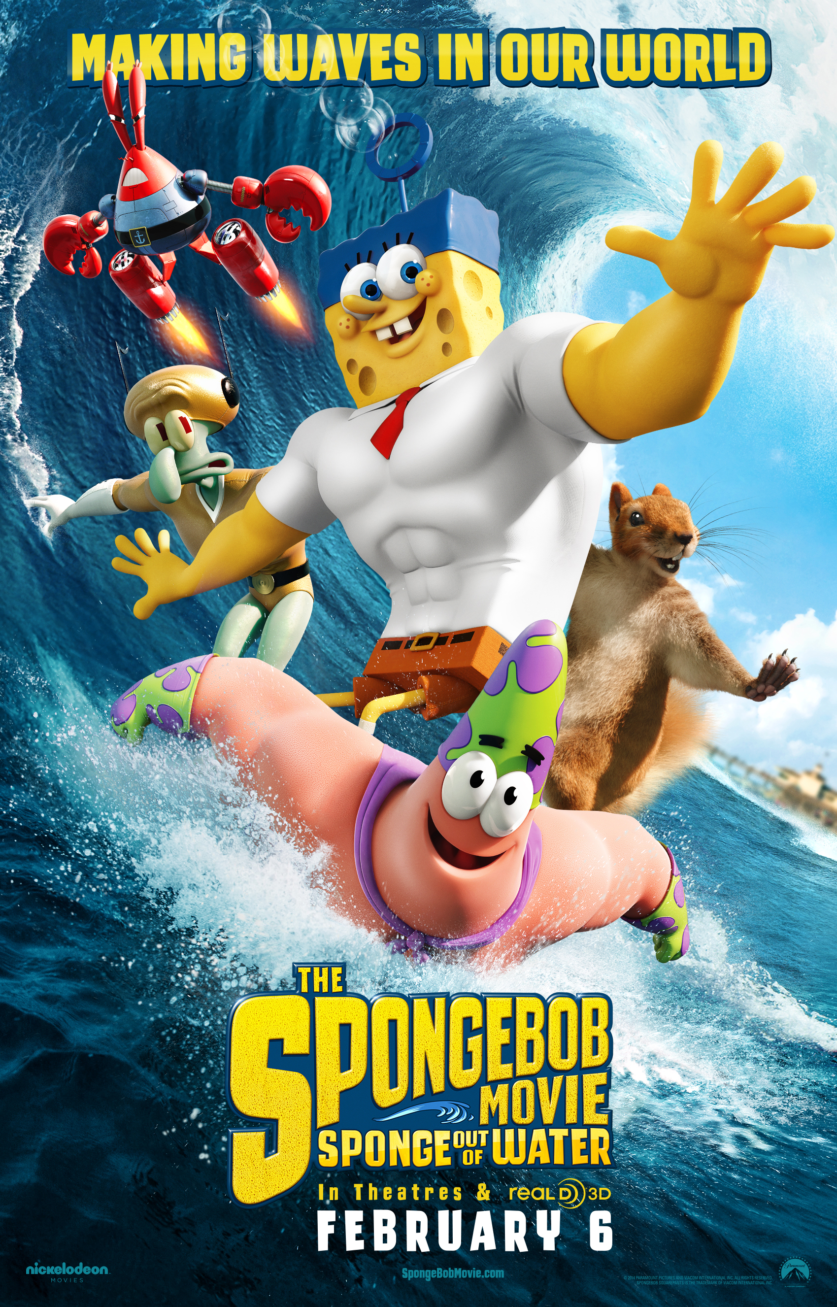 SpongeBob movie poster