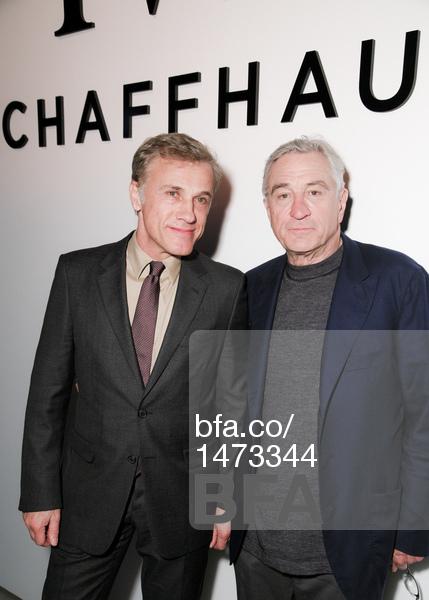 Christoph Waltz, Robert De Niro-