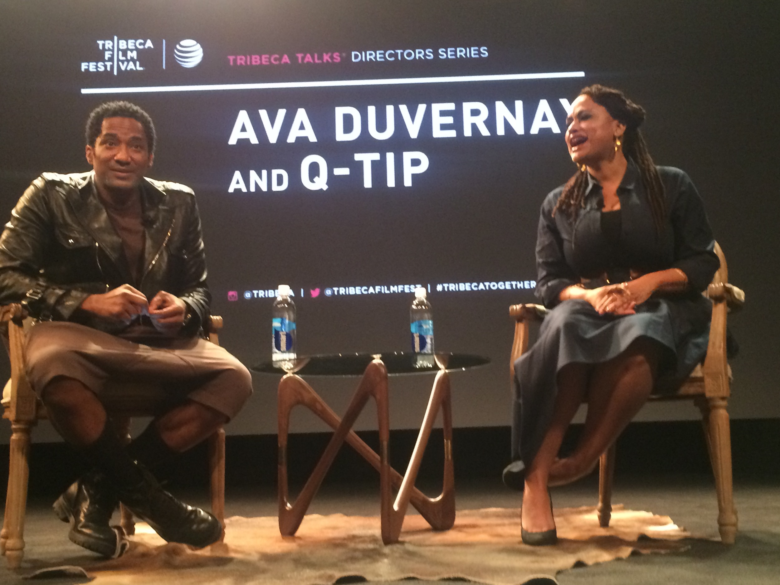 Qtip and Director Ava DuVernay