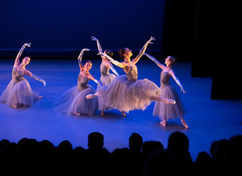 Danse Macabre, choreographed by Jenna Lavin, photo by Rosalie O'Connor