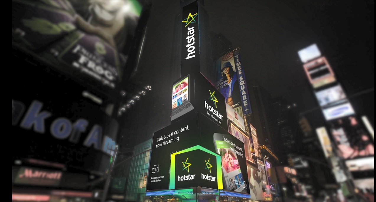 Hotstar on Times square screen.jpg