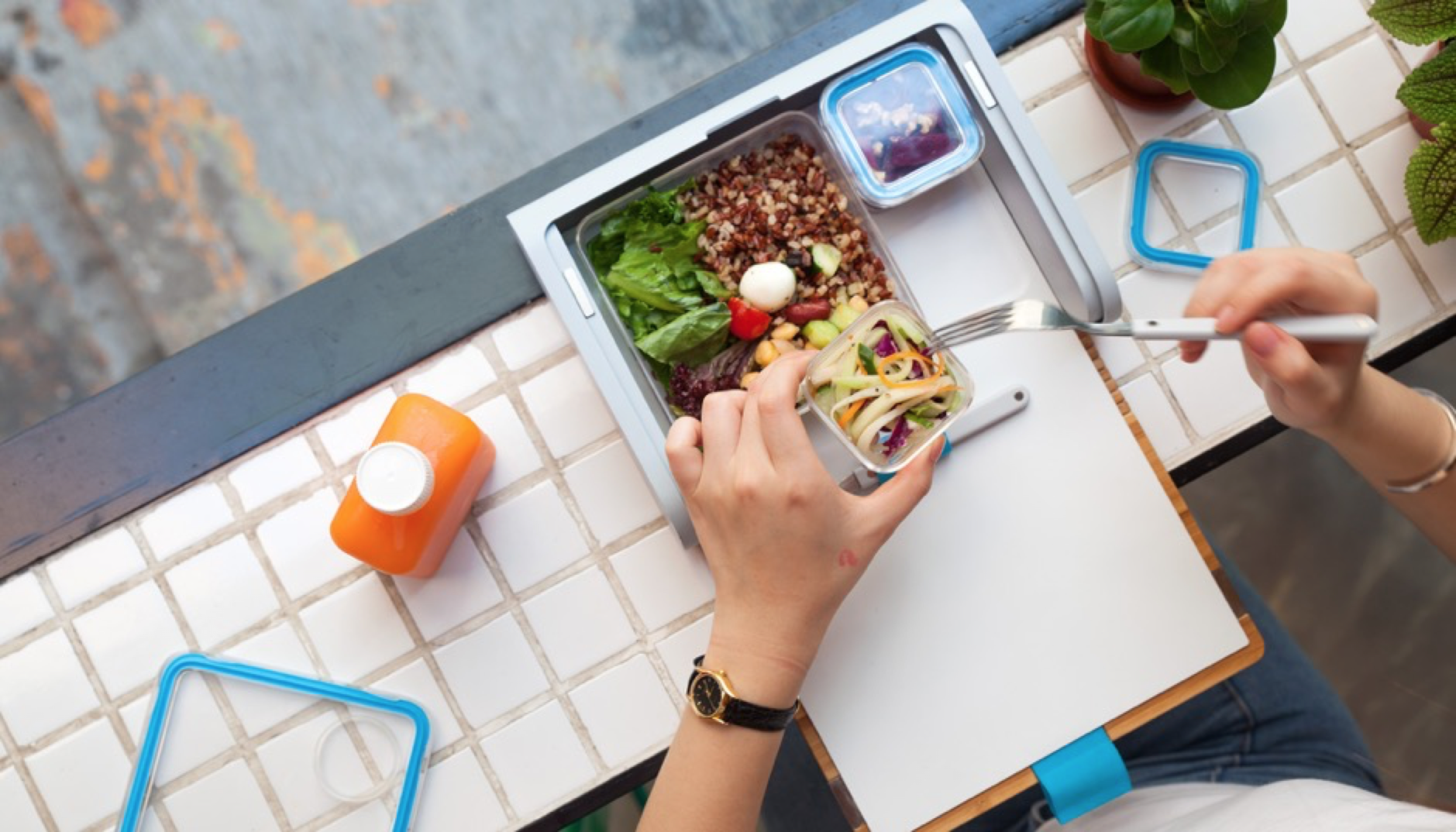 Designed with convenience and wellness in mind, a  Prepd Pack  ($69) encourages users to create vibrant, diverse and healthful meals with its unique modular design