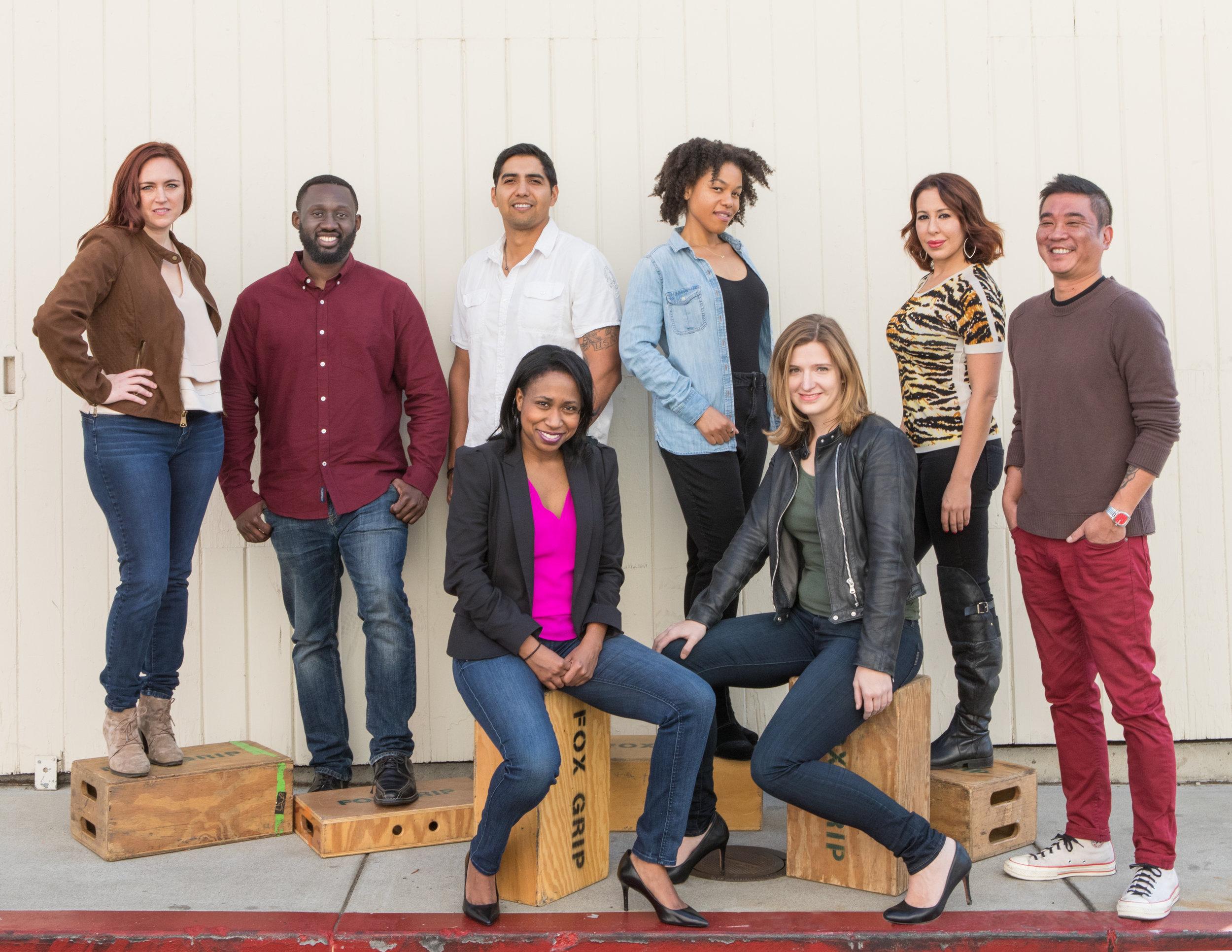 Fox Writers Lab 2018 Participants