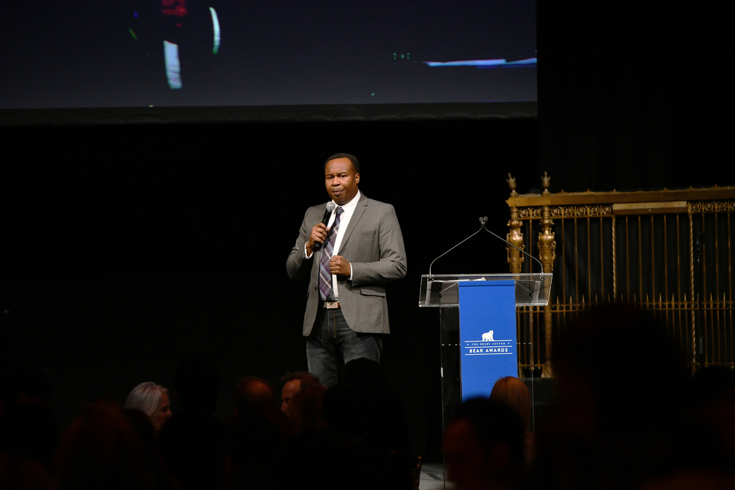 Roy Wood Jr. attends Brady Center's 2018 Bear Awards Honoring Real Life Heroes Helping to Prevent Gun Violence