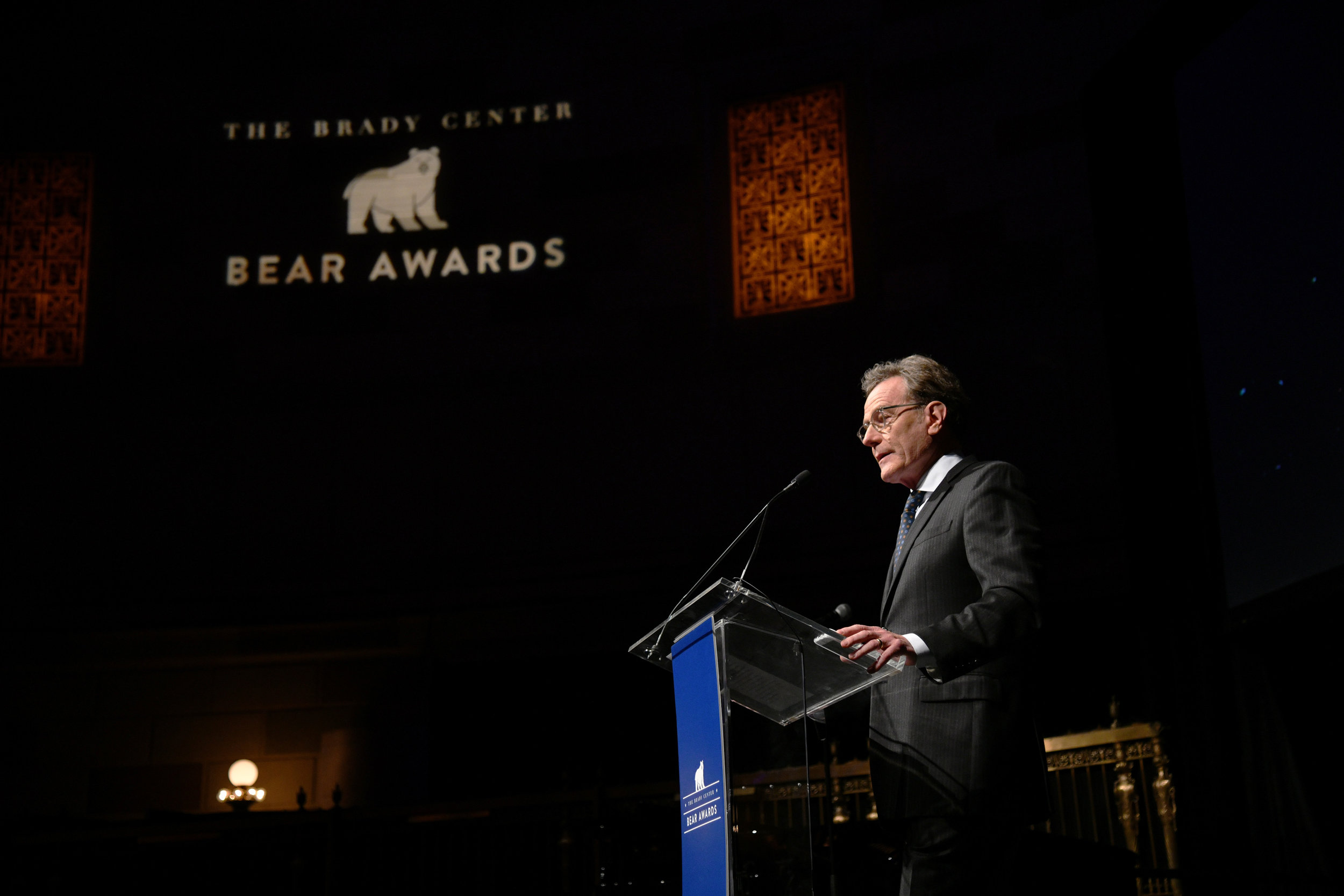 Bryan Cranston attends Brady Center's 2018 Bear Awards Honoring Real Life Heroes Helping to Prevent Gun Violence