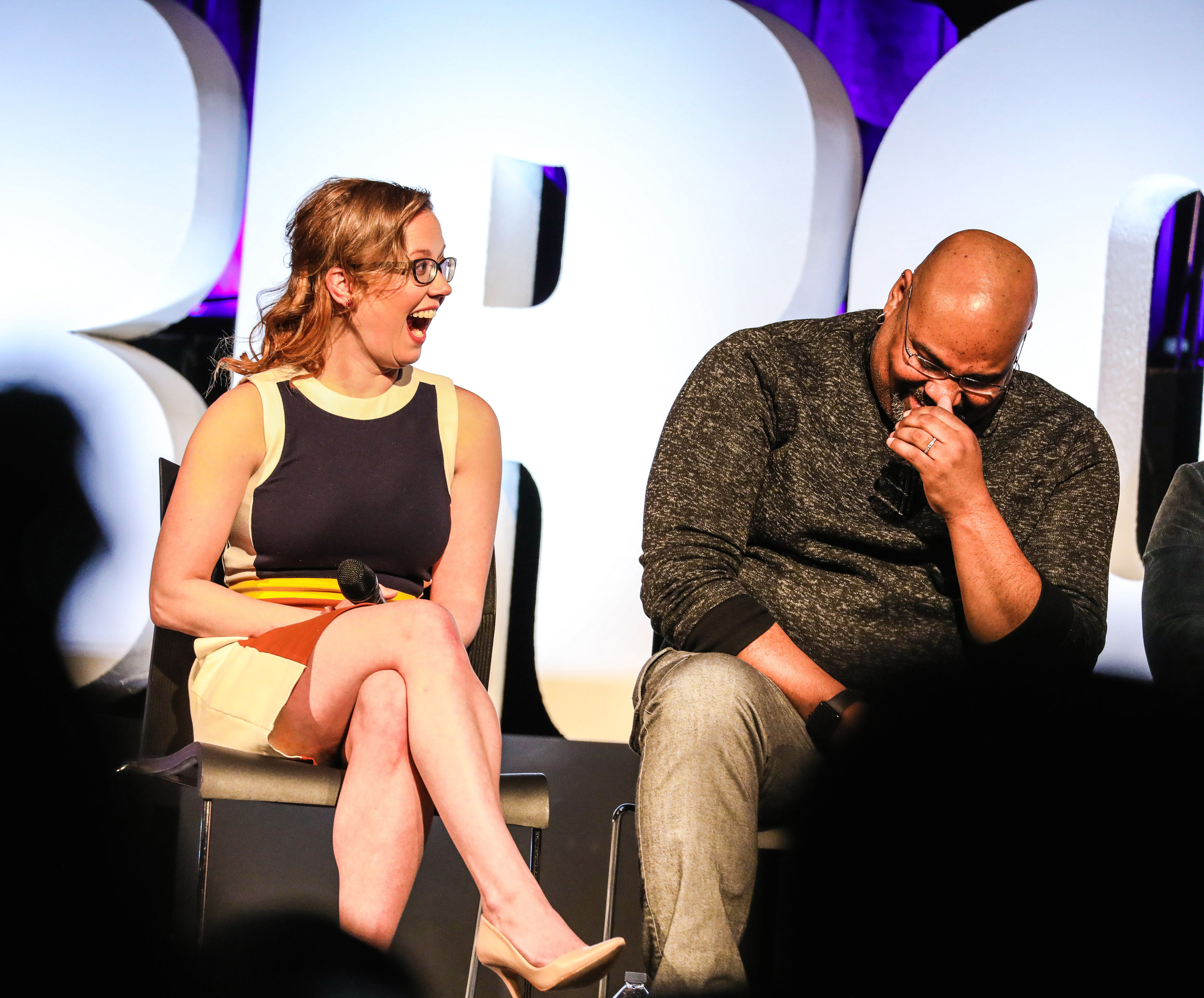 BroadwayCon_Disney_Theatrical_At_25_Patti Murin and James Monroe Iglehart_HR
