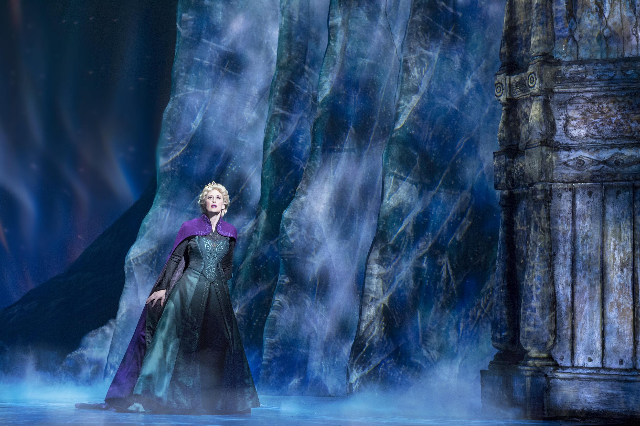 8-Caissie Levy as Elsa in FROZEN on Broadway - Freeze. Photo by Deen van Meer.jpg