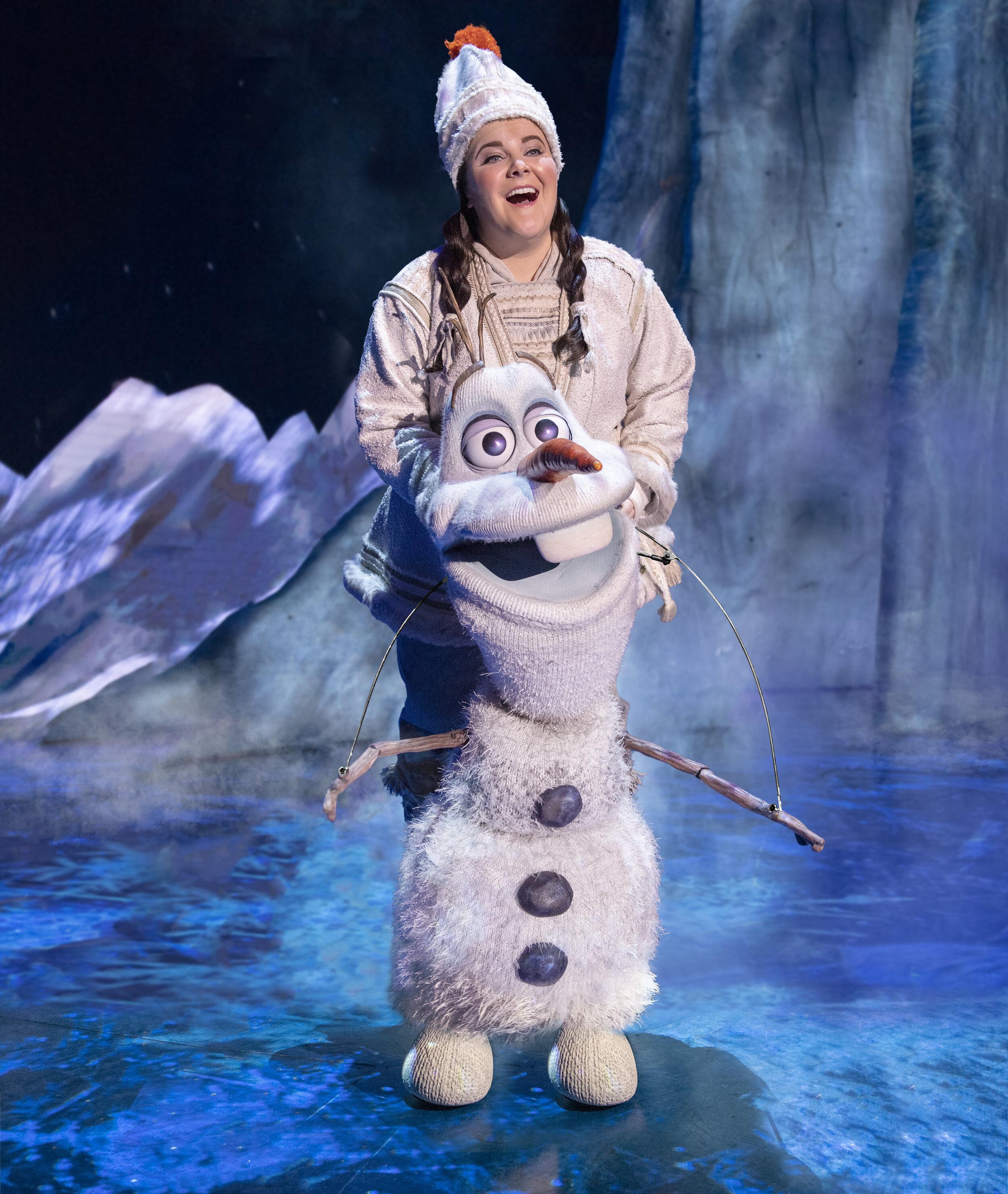 11-Ryann Redmond as OLAF in Frozen Broadway photo by Deen van Meer.jpg