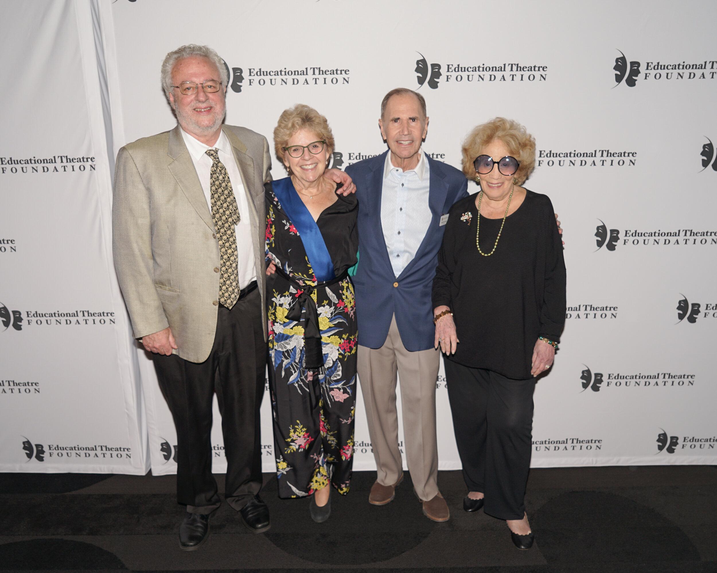 DSC_04766 Harvey Zirofsky, Sharon Dunn, Freddie Gershon, Myrna Gershon.jpg