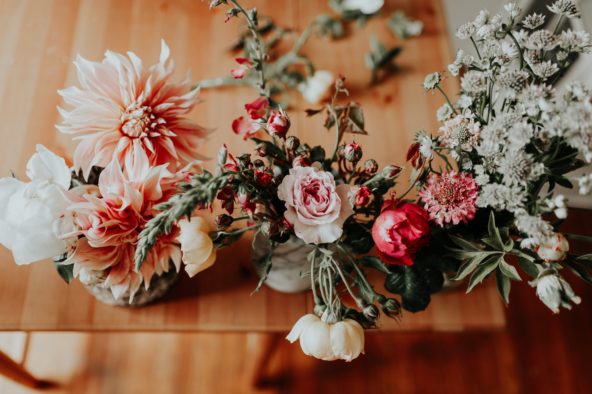Florals by Amy Barnes of Briar + Ivy