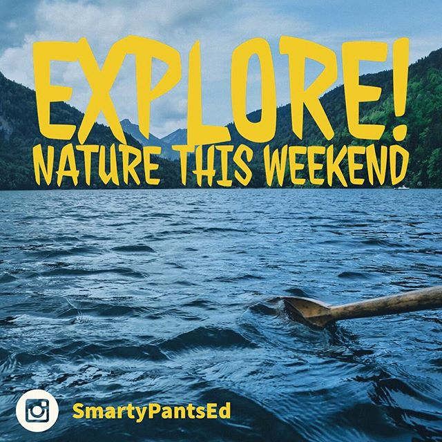 Go out and explore #nature this weekend. Learn about your local #environment and how you can protect it. #science #education