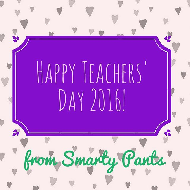 Happy Teachers' Day! We appreciate educators so much for their hard work and endless efforts to improve students' lives. #teacherappreciationweek #teachersday