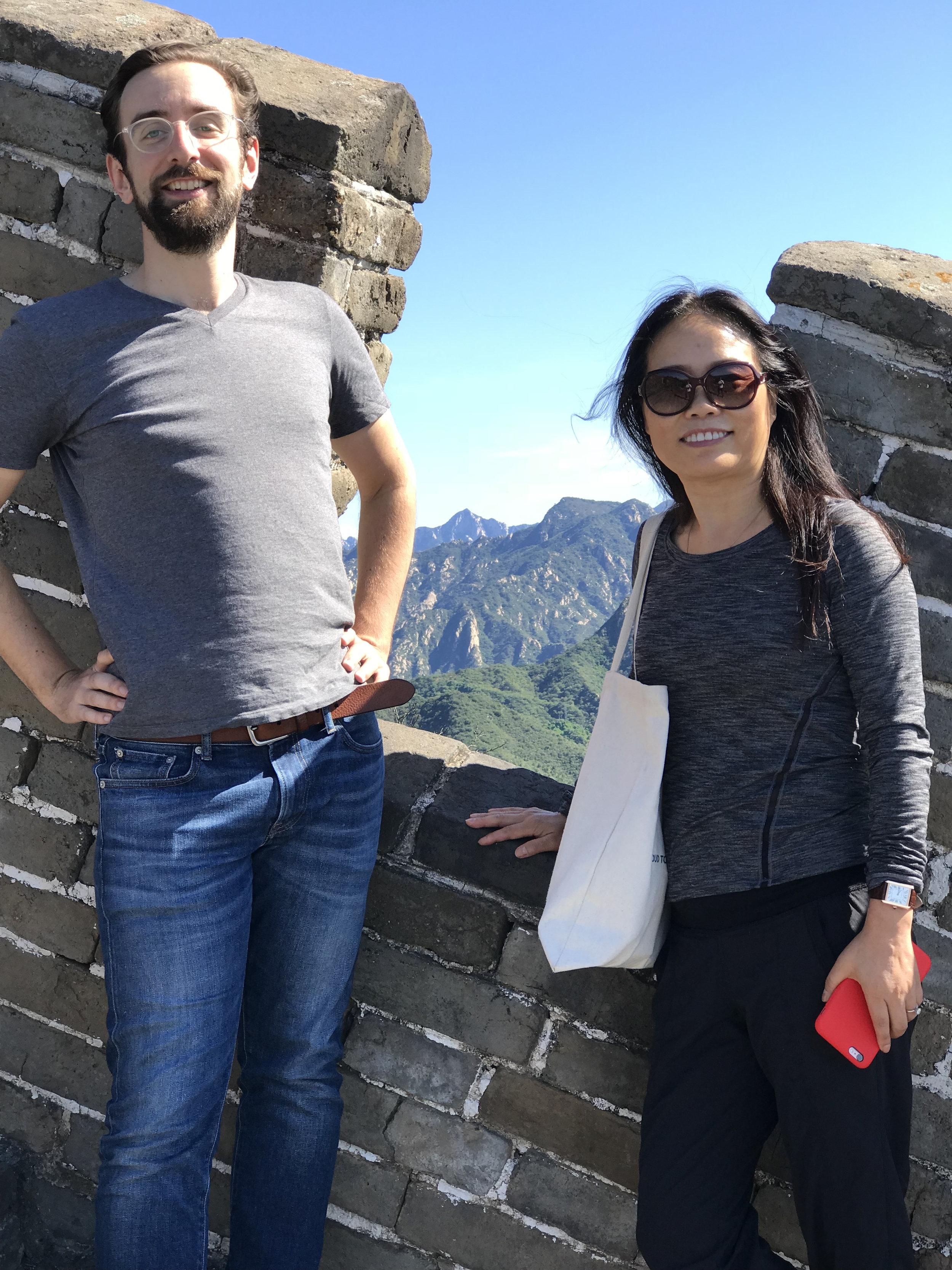 Zhu and Jake at the Great Wall Retreat.jpg
