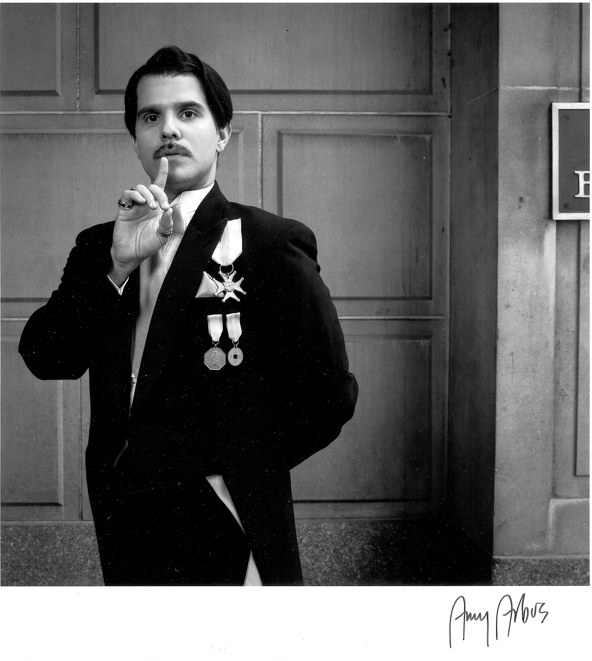 As the Vicomte d'Nanjac in An Ideal Husband at the Great Lakes Theater Festival (2011)