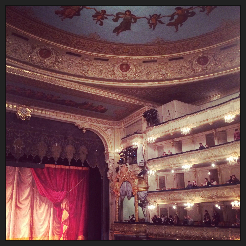 The melancholic Marinsky, St Petersburg