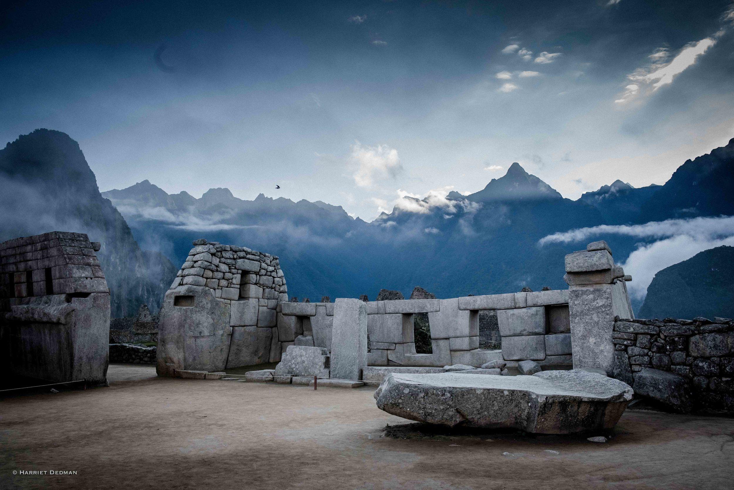 Plaza de Sagrado, Machu Picchu